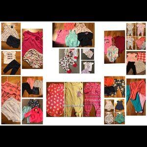 40+ Baby Clothing Lot Bundle